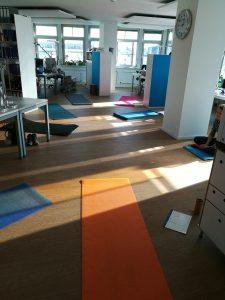Yoga im Buero
